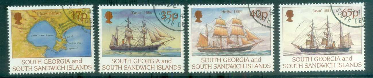 South Georgia 1994 Larsen's Voyage FU lot78017