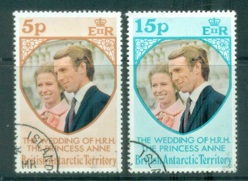BAT 1973 Princess Anne Wedding FU lot78042