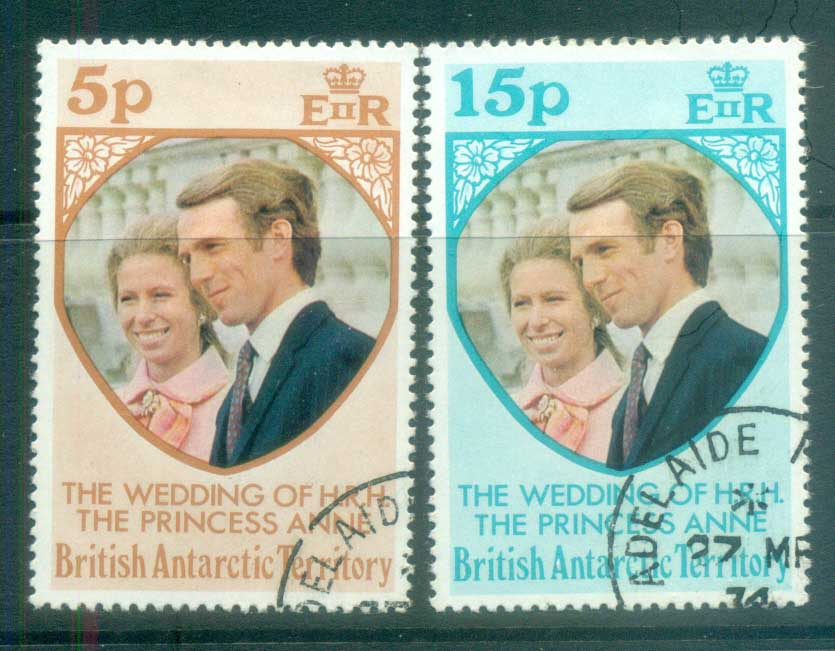 BAT 1973 Princess Anne Wedding FU lot78043y7u