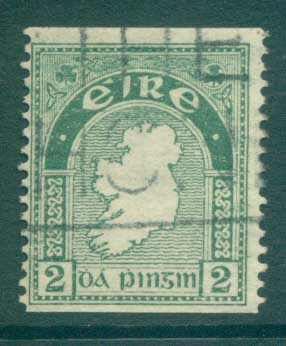 Ireland 1922-23 2d Map of Ireland Coil FU lot78548