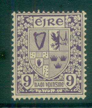 Ireland 1922-23 9d Coat of Arms MLH lot78559