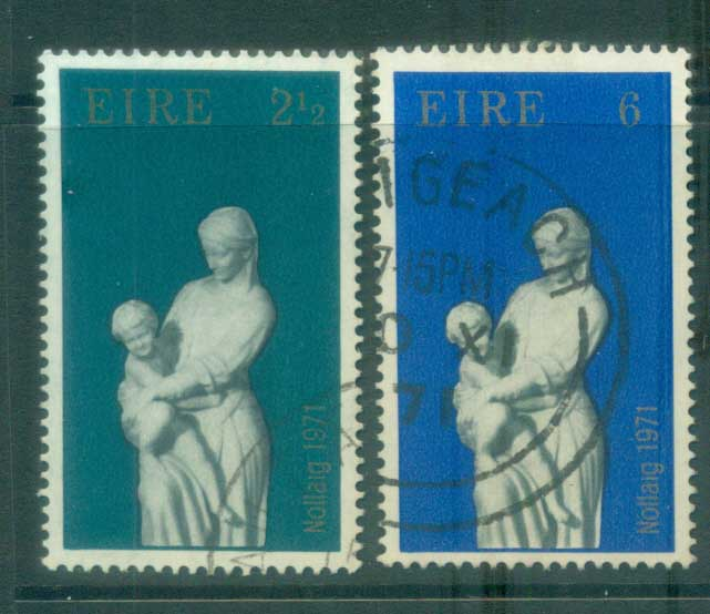 Ireland 1971 Xmas FU lot78733