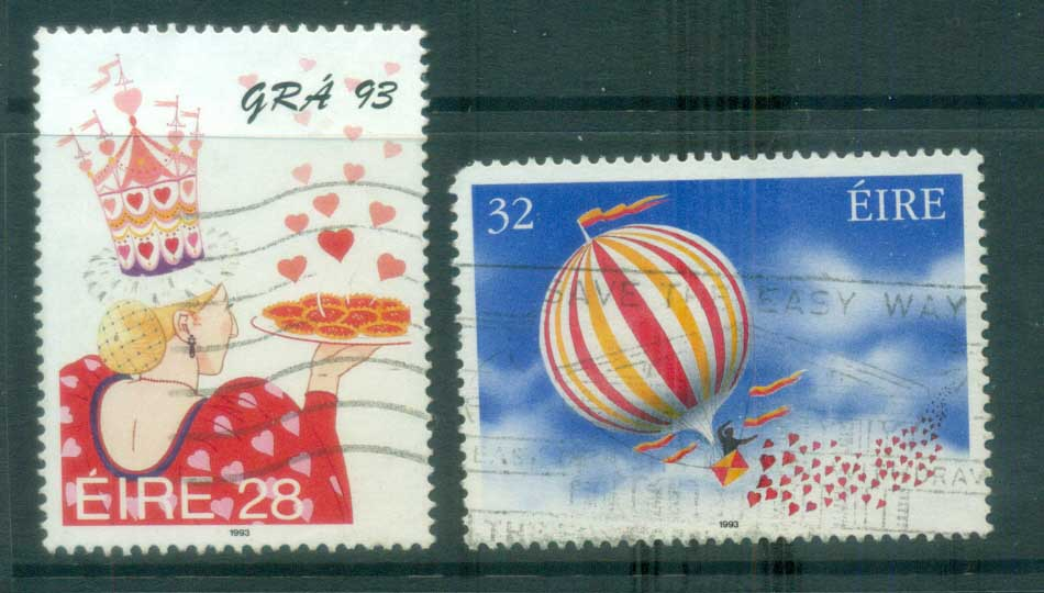 Ireland 1993 Love Stamps FU lot78879