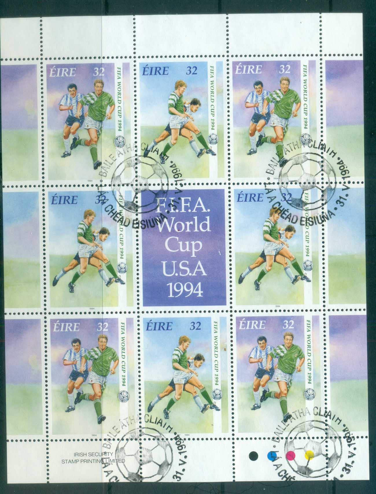 Ireland 1994 World Cup Soccer MS FU lot78886