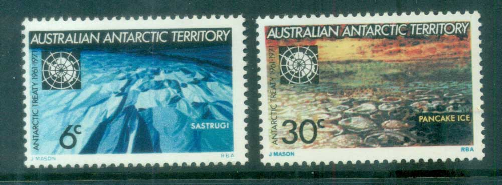 AAT 1971 Antarctic Treaty MUH lot79051