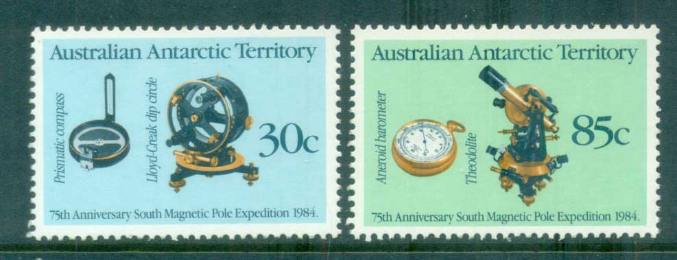 AAT 1984 South Magnetic Pole Expedition MUH lot79054