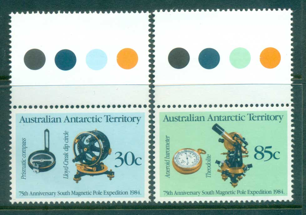 AAT 1984 South Magnetic Pole Expedition MUH lot79055