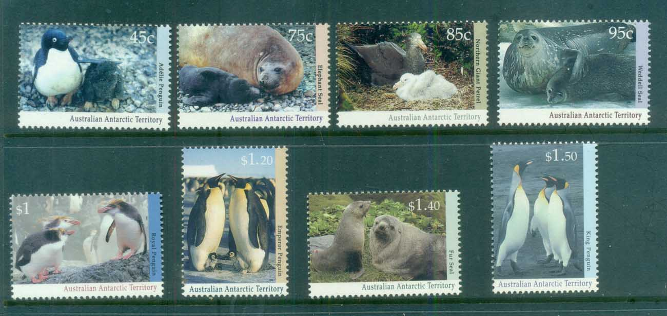 AAT 1992-93 Regional Wildlife MUH lot79061