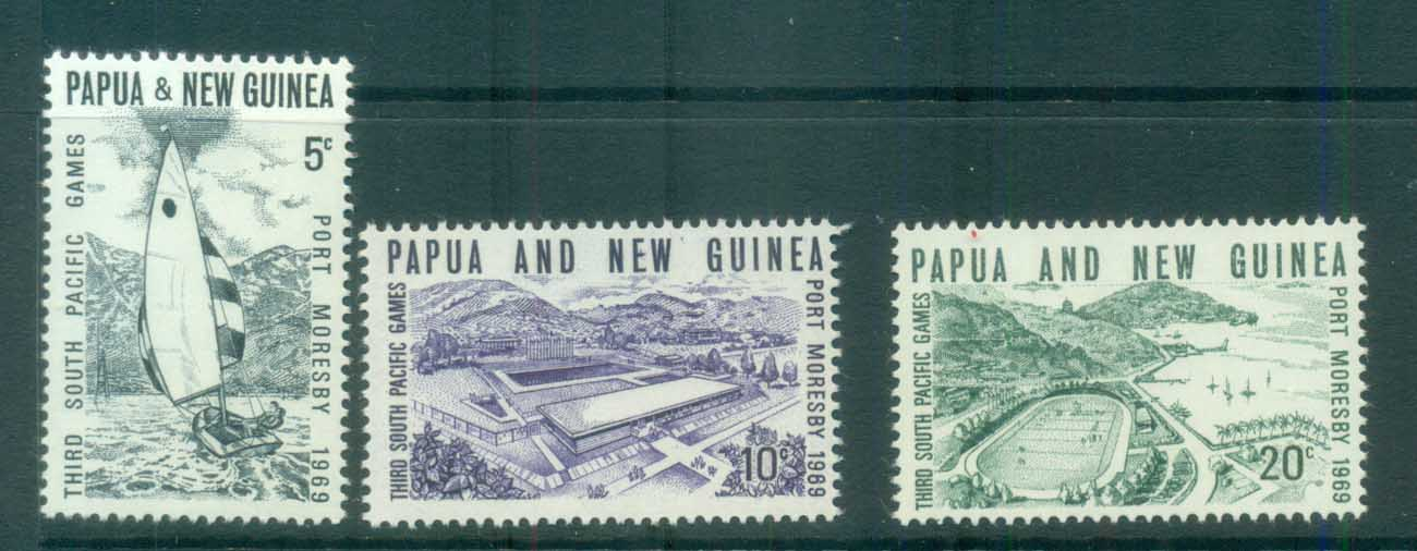 PNG 1969 South Pacific Games MUH lot79073