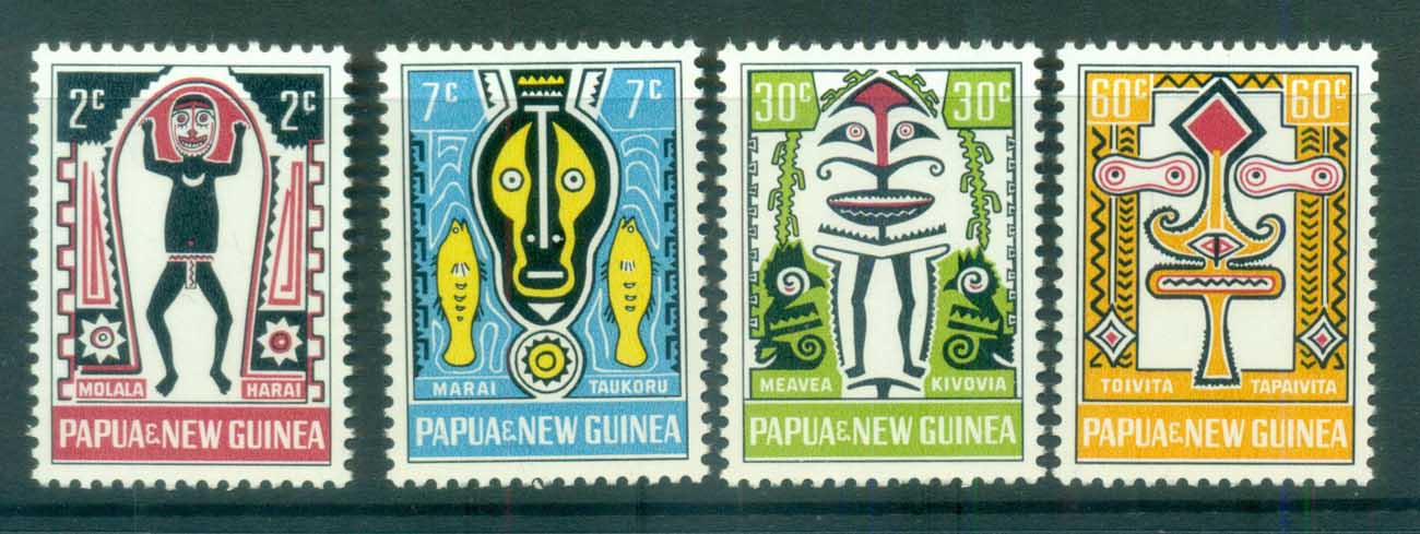 PNG 1966 Myths of Elema MUH lot79078