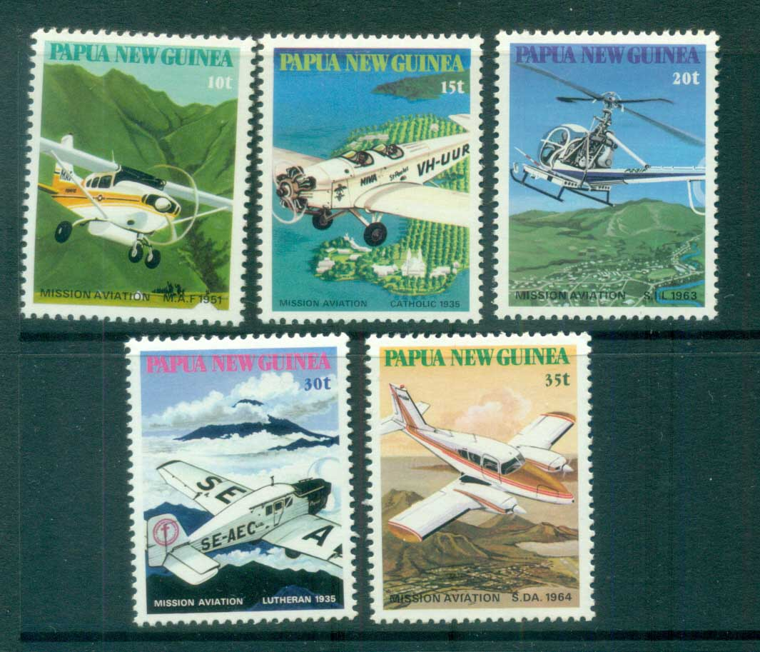 PNG 1981 Missionary Aviation MUH lot79102