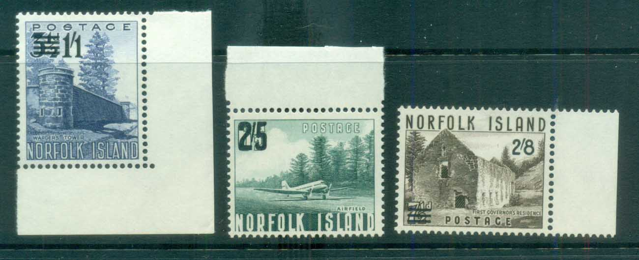 Norfolk Is 1960 Surcharges MUH lot79162