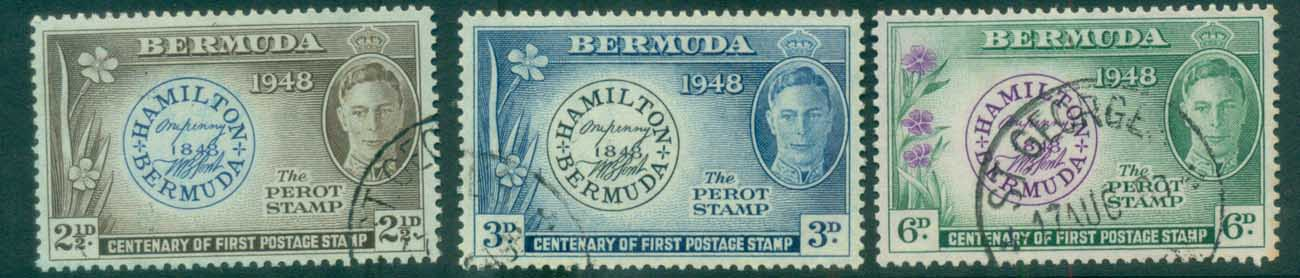 Bermuda 1949 Stamp Cent FU lot79202