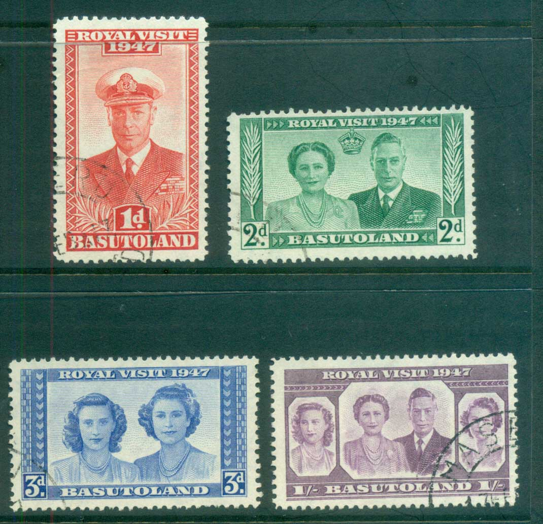 Basutoland 1947 Royal Visit FU lot79277