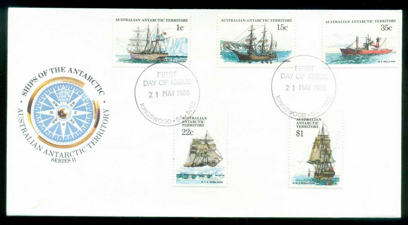 AAT 1980 Ships I, Kingswood SA FDC lot79710