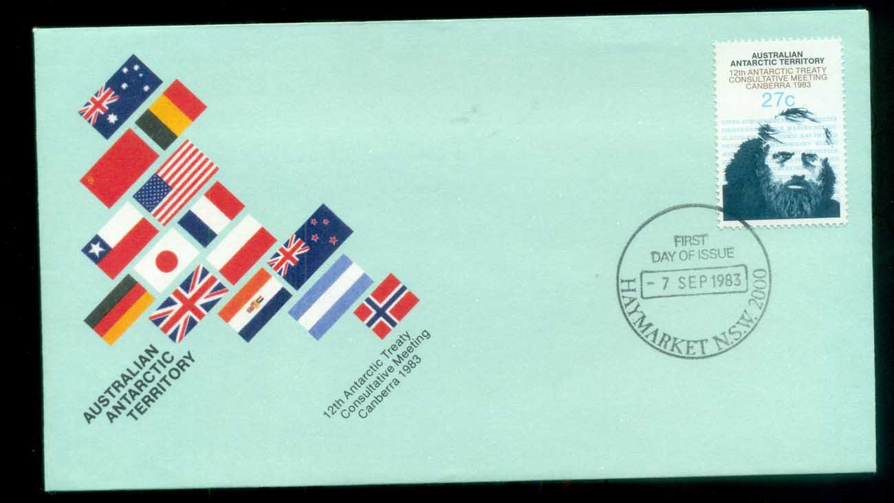 AAT 1983 Antarctic Treaty, Haymarket NSW FDC lot79776