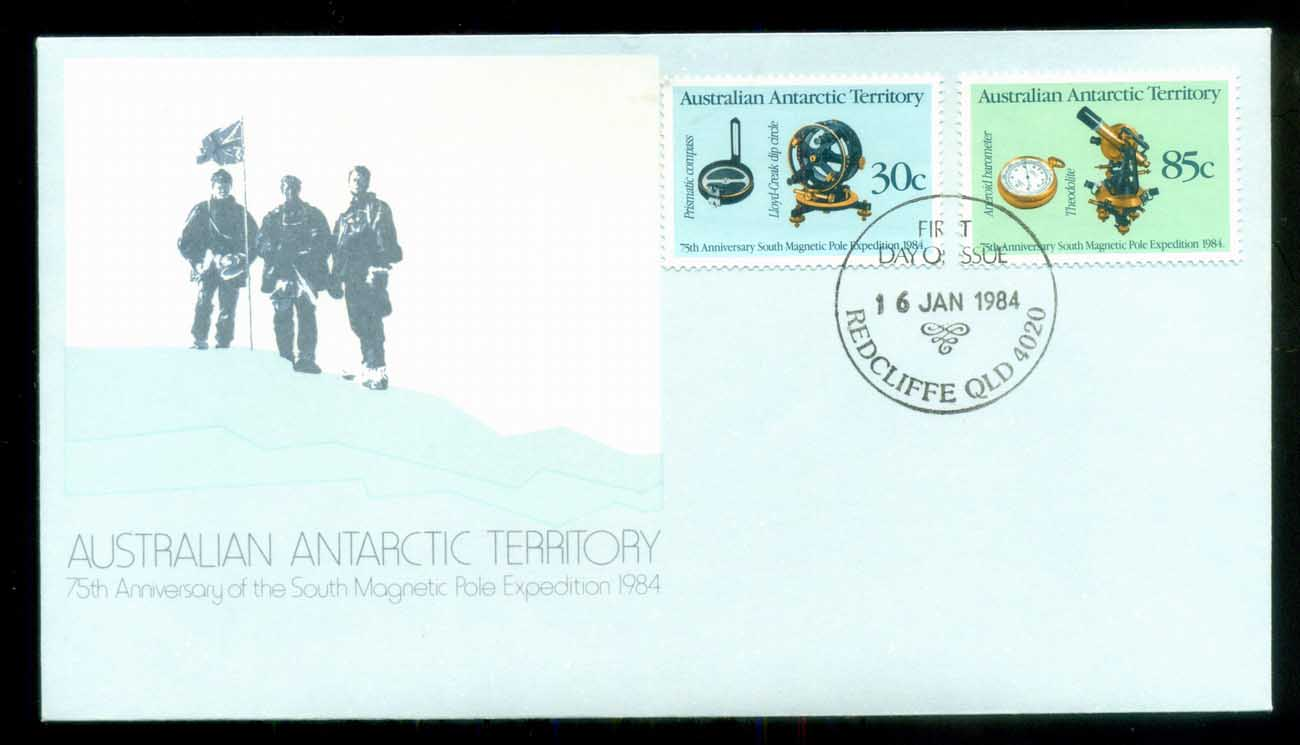 AAT 1984 Magnetic Pole, Redcliffe Qld FDC lot79844