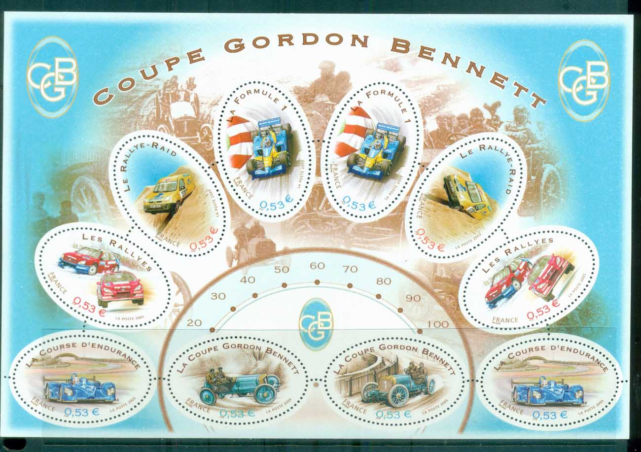 France 2005 Gordon Bennet Cup MS MUH lot80127