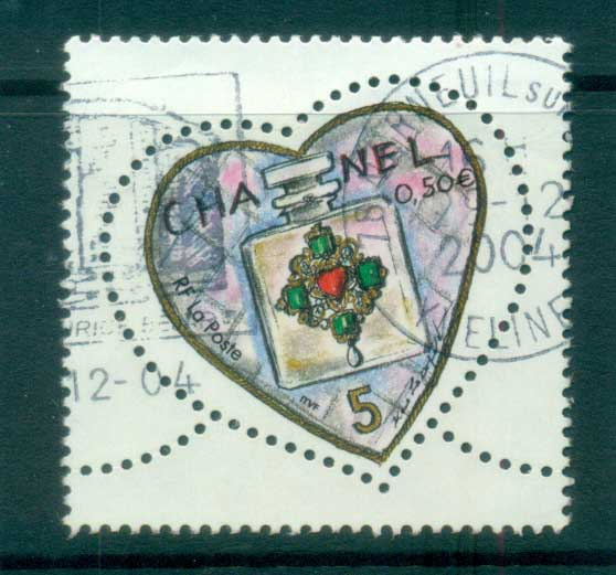 France 2005 Hearts 50c FU lot80129