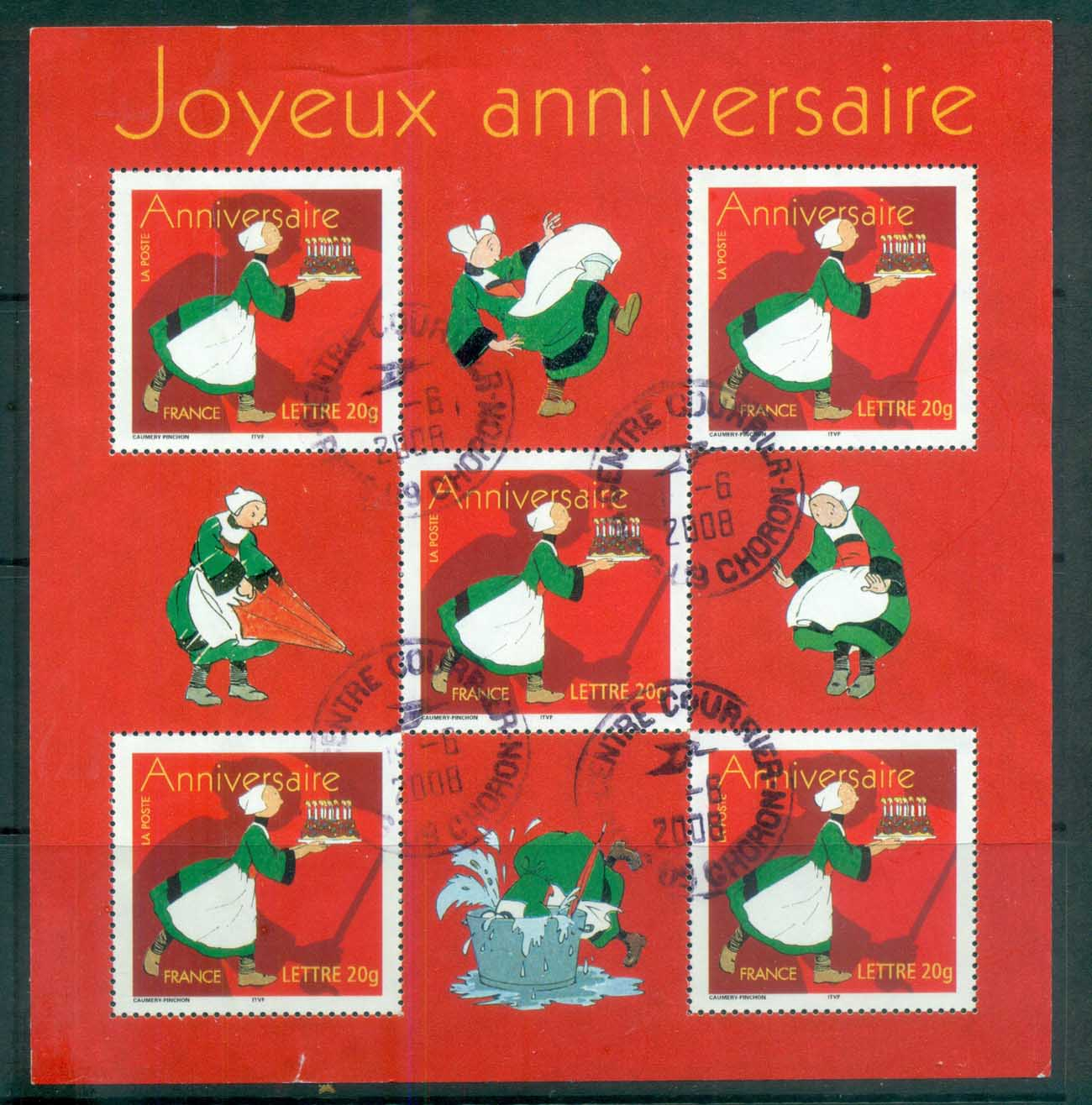 France 2005 Happy Birthday MS FU lot80140