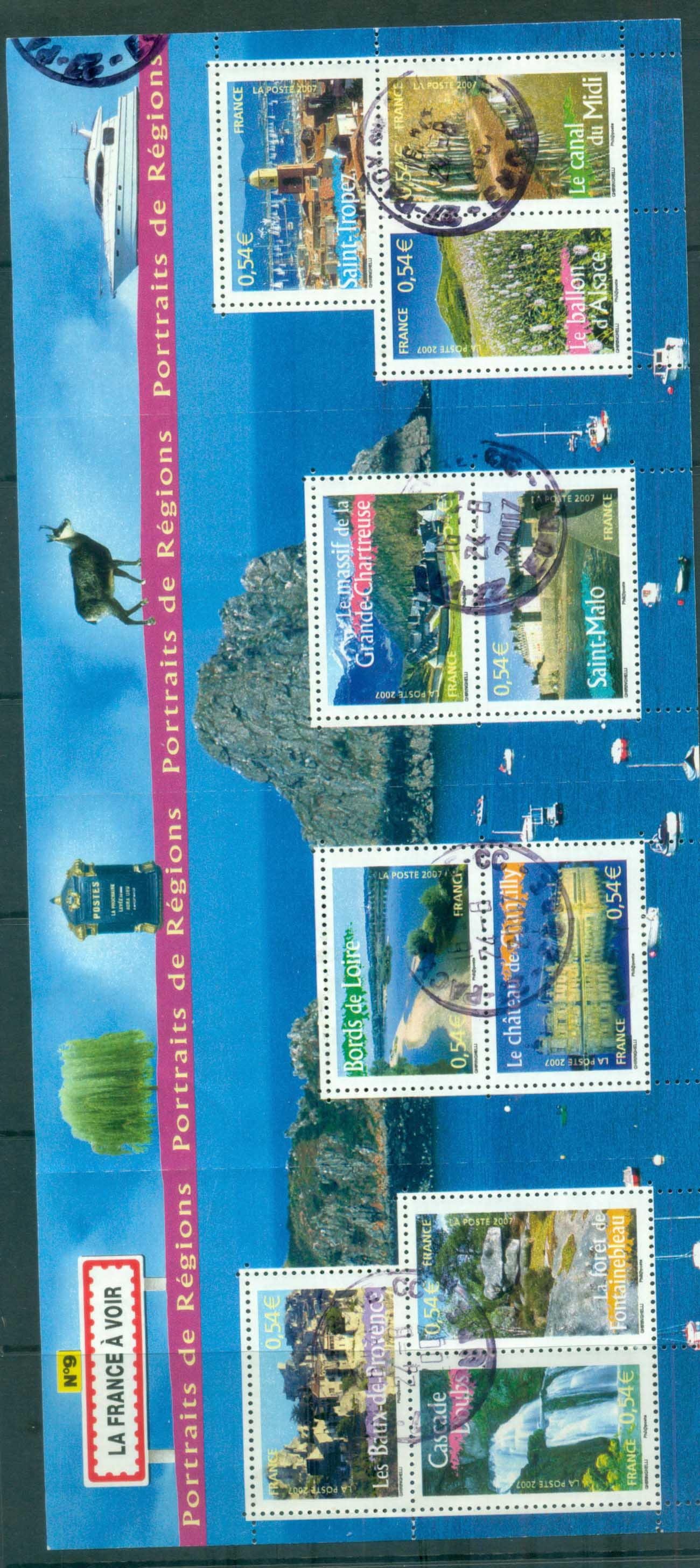 France 2006 Regions #9 MS FU lot80175