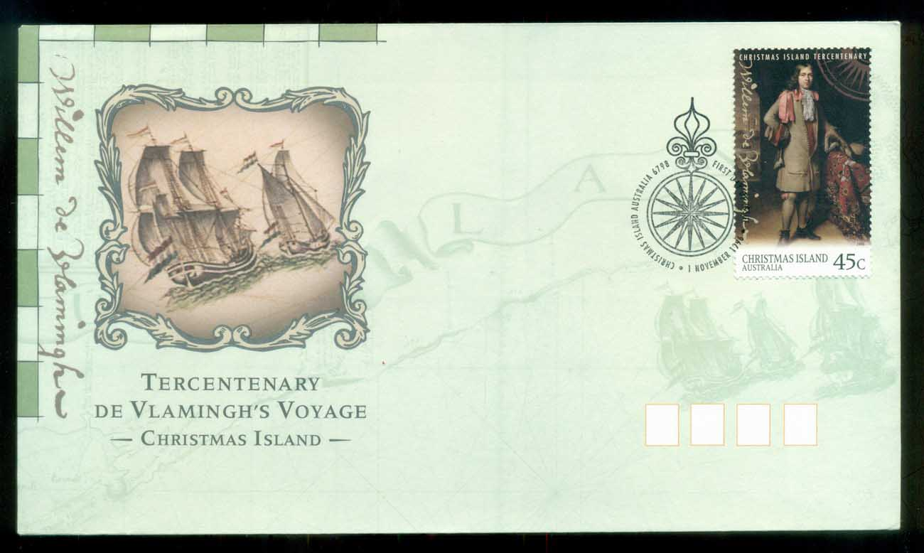 Christmas Is 1996 De Vlamingh FDC lot80201