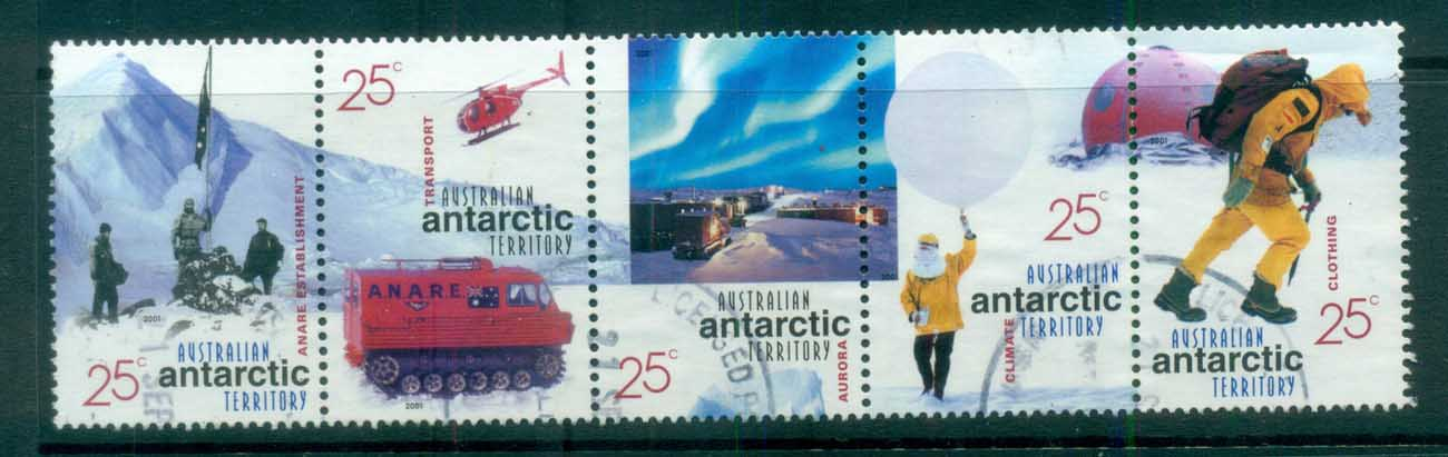 AAT 2001 Australians in the Antarctic 25c Str 5 FU lot80677