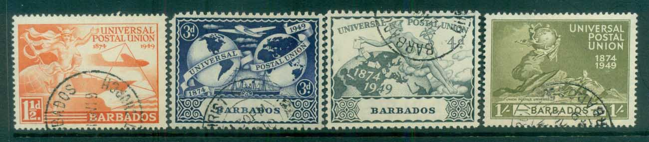 Barbados 1949 UPU FU lot80770