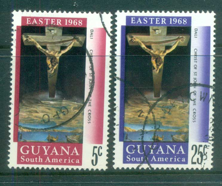 Guyana 1968 Easter FU lot80901