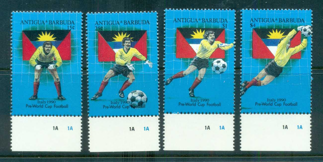 Antigua & Barbuda 1989 World Cup Soccer MUH lot80963