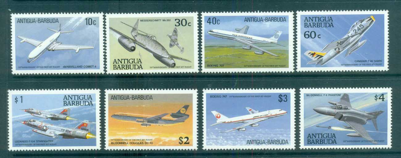 Antigua & Barbuda 1989 Jet Aircraft MUH lot80974
