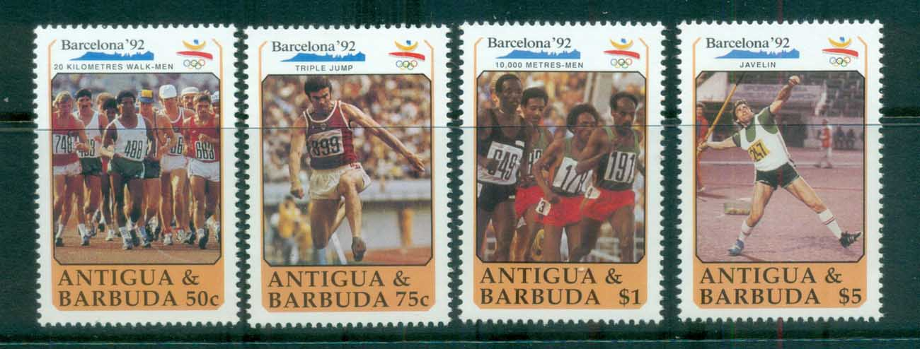 Antigua & Barbuda 1990 Barcelona Olympics MUH lot80982