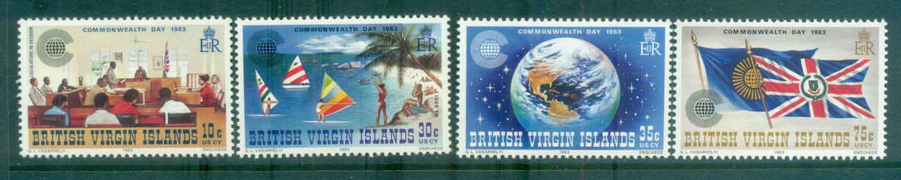 Virgin Is 1983 Commonwealth Day MLH lot81132