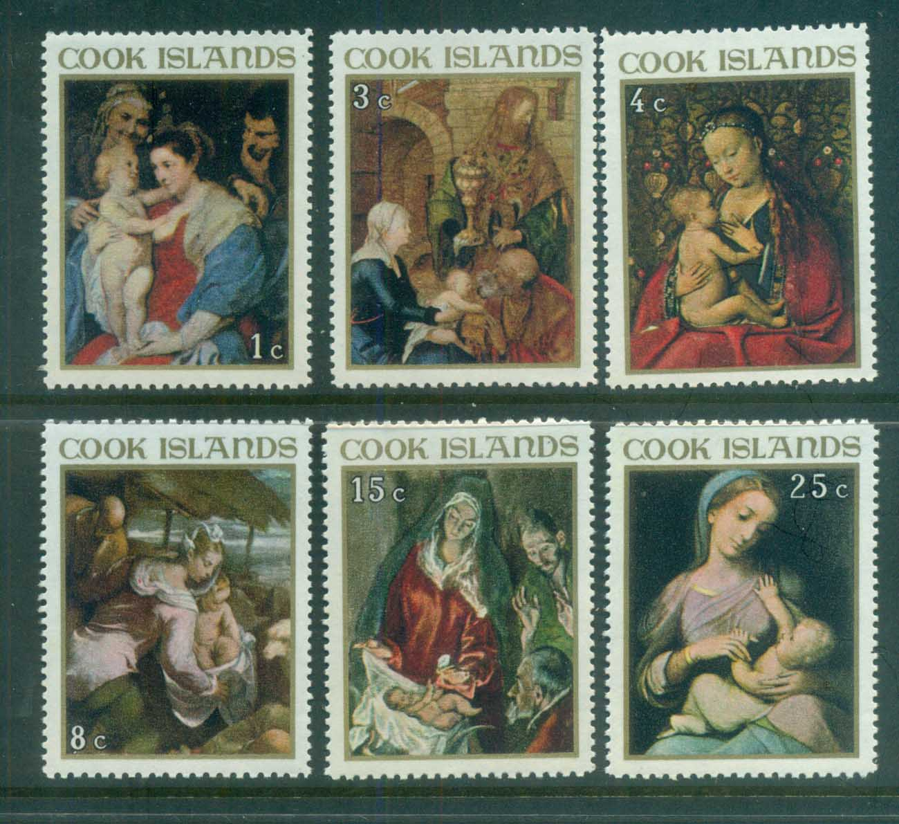 Cook Is 1967 Xmas MUH lot81304