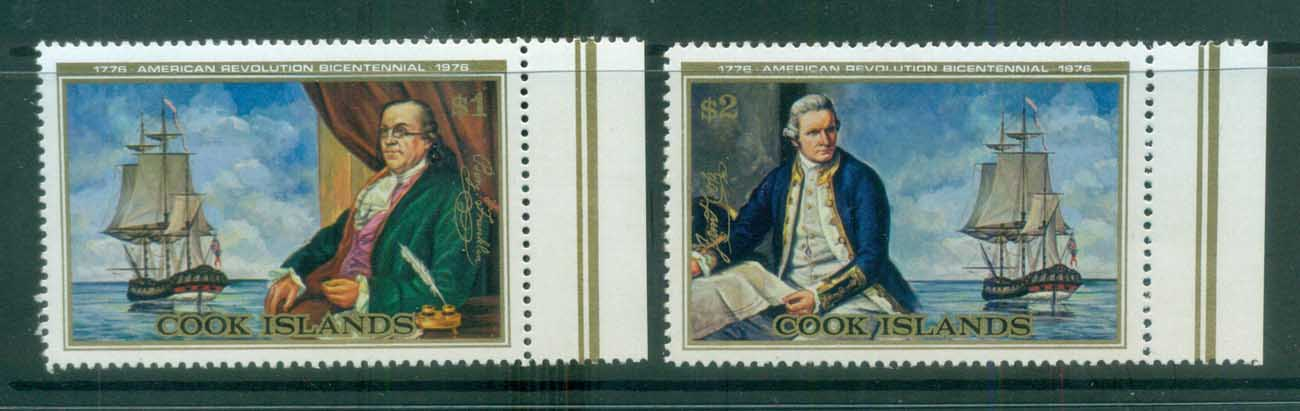 Cook Is 1976 American Bicentennial MUH lot81309