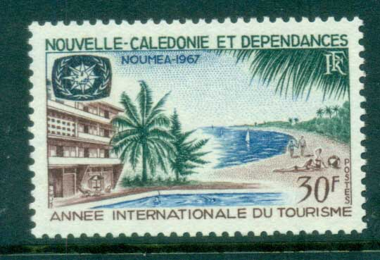 New Caledonia 1967 ITY Tourism MUH lot81410