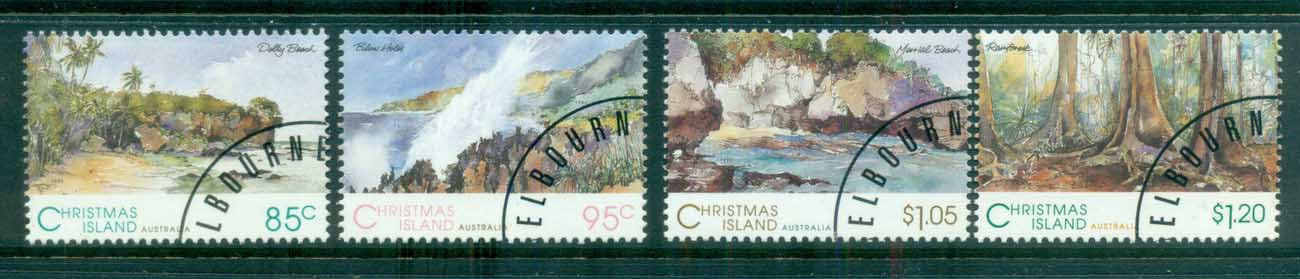 Christmas Is 1993 Scenic Views CTO lot81549