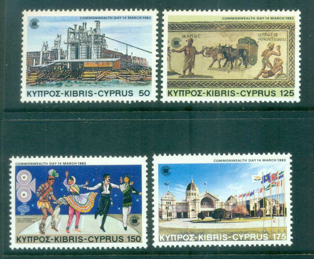Cyprus 1983 Commonwealth Day MUH lot81681