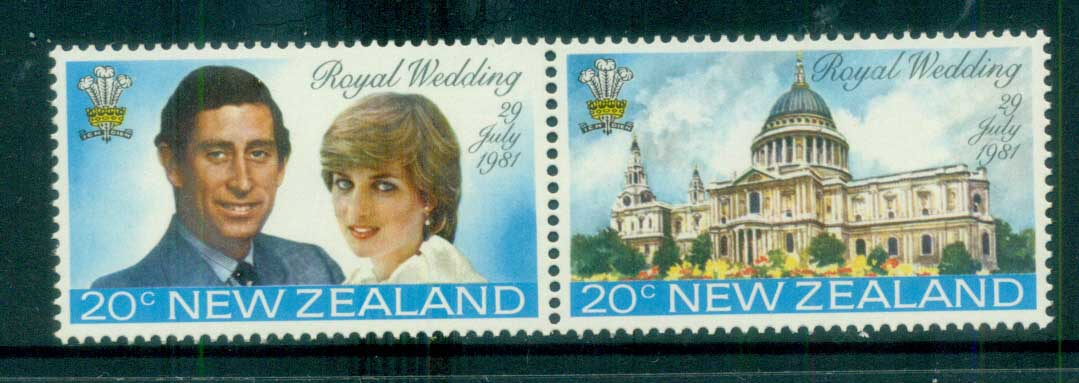 New Zealand 1981 Charles & Diana Royal Wedding pr MUH lot81920
