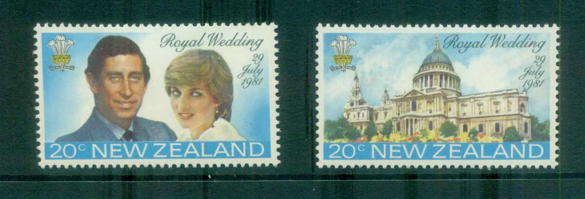 New Zealand 1981 Charles & Diana Royal Wedding MUH lot81928
