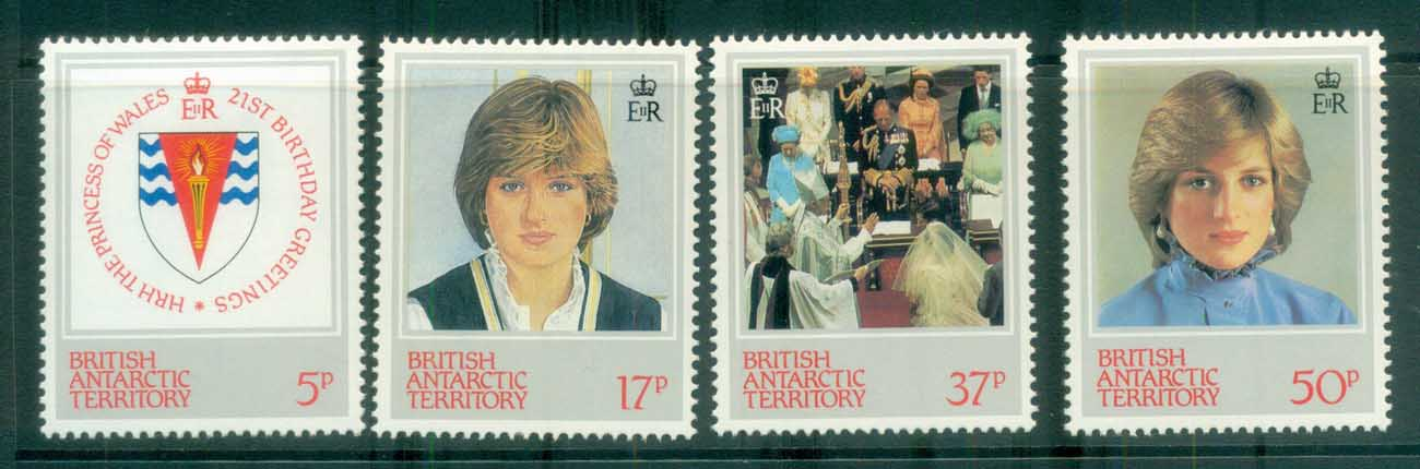 BAT 1982 Princess Diana 21st Birthday MLH lot81963