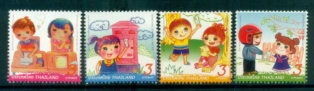 Thailand 2011 Letter Writing Week MUH lot82089