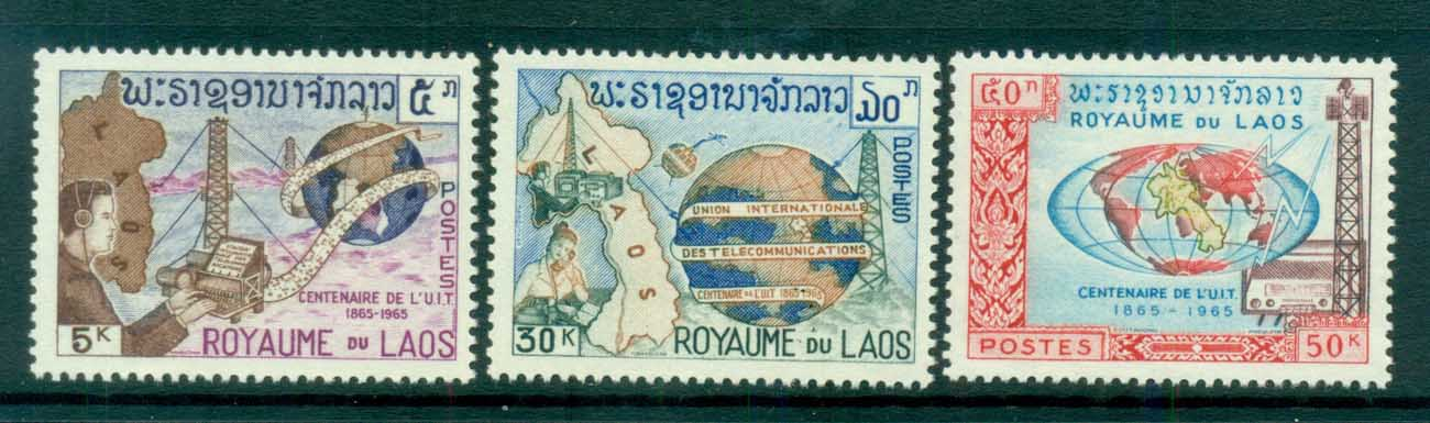 Laos 1965 ITU Centenary MUH lot82899