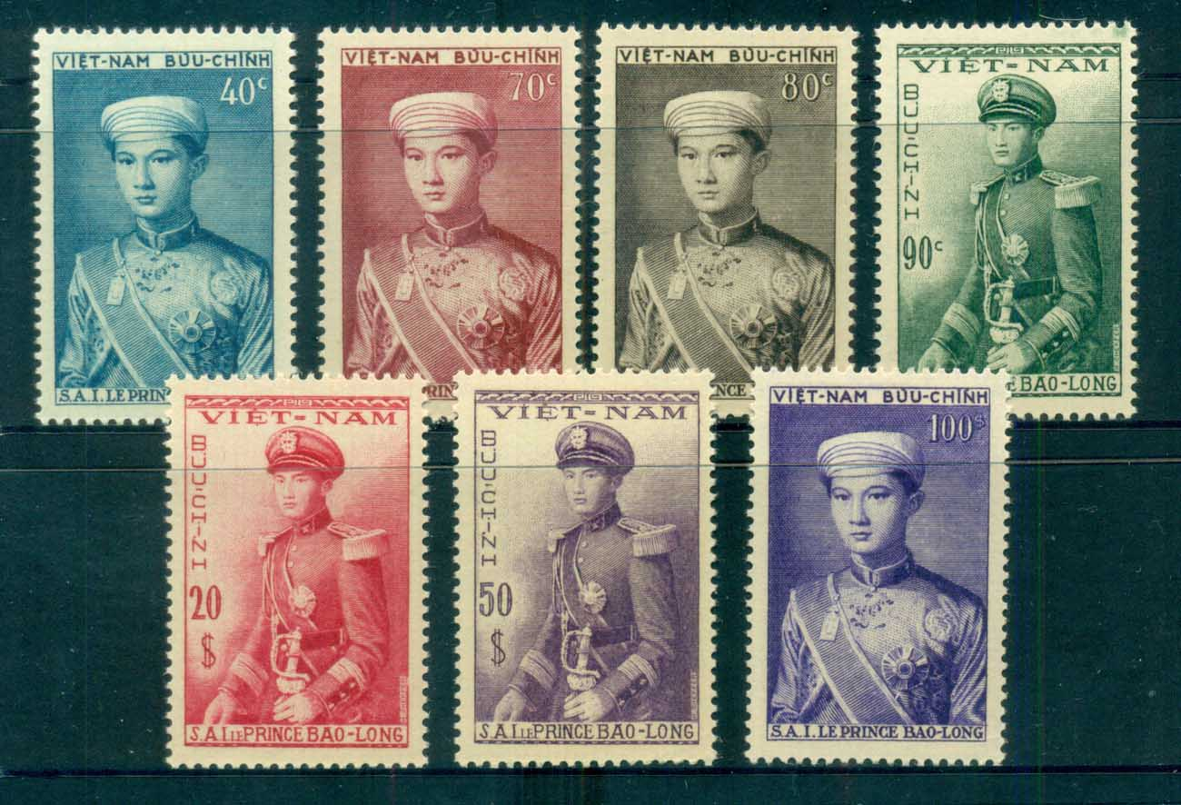 Vietnam 1954 Crown Prince Bao-Long (brown gum) MUH lot83088