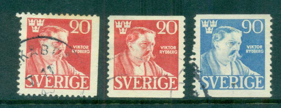 Sweden 1945 Viktor Rydberg, Author FU lot83797