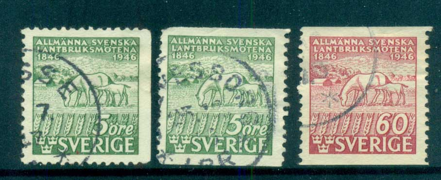 Sweden 1945 Agricultural Shows FU lot83799