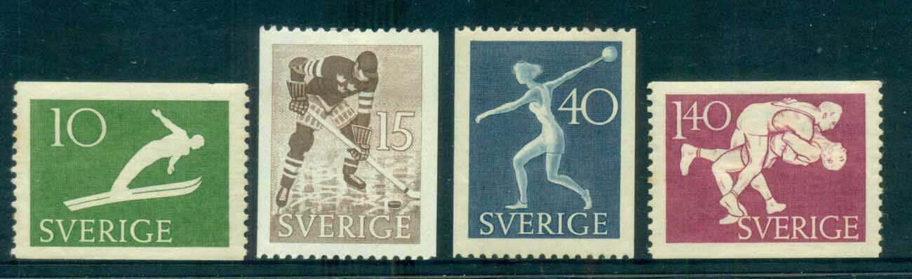 Sweden 1953 Swedish Athletic Assoc, Sport MH lot83812