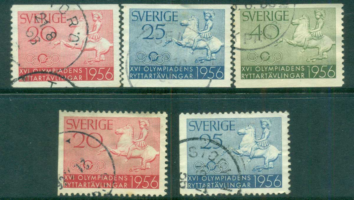 Sweden 1956 Olympic Equestrian Competitions FU lot83819