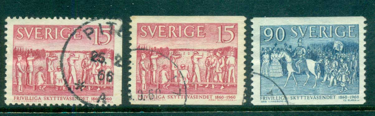 Sweden 1960 Voluntary Shooting Organization FU lot83832