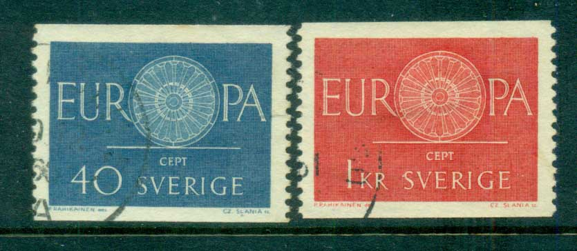 Sweden 1960 Europa FU lot83835